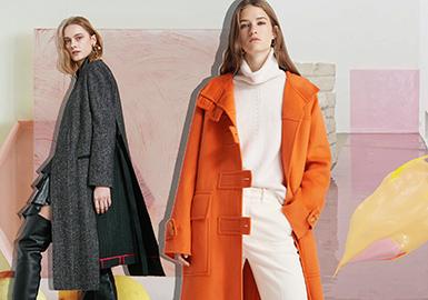 Designer Brand -- 20/21 A/W Silhouette Trend for Women's Coat