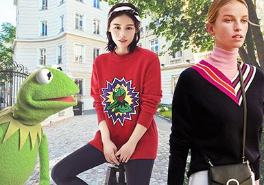 Sophisticated Women (Pattern & Detail) -- 18/19 A/W Womenswear Benchmark Brand