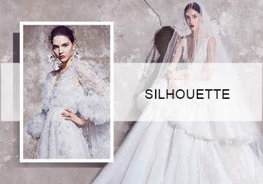 Seek Newness -- Silhouette Trend for Wedding Dresses