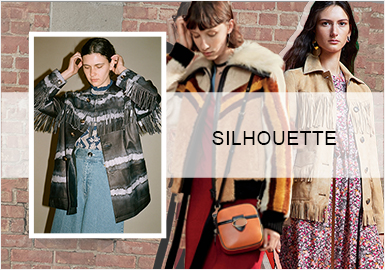 Unrestrained Styling -- Silhouette Trend for Women's Leather Jackets