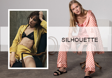 Rustic and Nostalgic -- Silhouette Trend for Women's Loungewear
