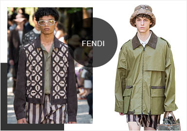 Garden Language -- Analysis of Fendi's Menswear Fur&Leather Show
