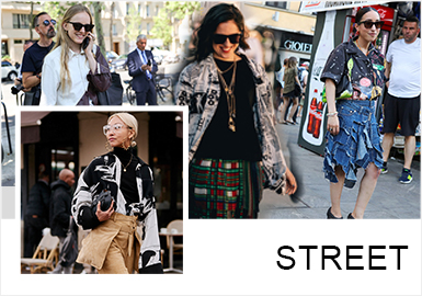 Maximalized Shirts -- Comprehensive Analysis of Womenswear Street Snaps