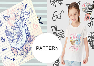 Vacation Girls -- Pattern Trend for Kidswear
