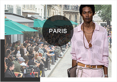 Subtle French Romance -- Comprehensive Analysis of Men's Knitwear in Paris Fashion Week