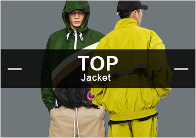 Jackets -- Popular Items in Menswear Markets