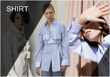 Balancing -- Comprehensive Analysis of Women's Shirts of Designers