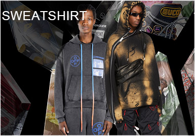 Play with Sweatshirts -- Comprehensive Analysis of Designers' Sweatshirts