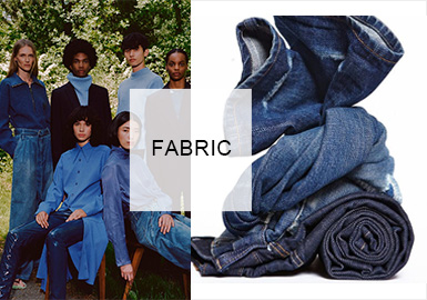 Causal Denim -- Fabric Trend for Womenswear