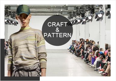 Print&Craft -- Comprehensive Analysis of Men's Knitwear in Fashion Weeks