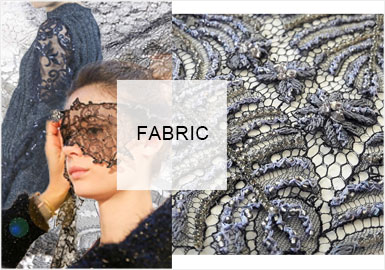 Stitches and Textures/French Elegance -- Lace in Women's Knitwear