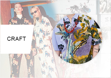 The Retro Chinese Style -- Pattern Trend for Womenswear