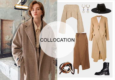 Three-Dimensional Geometrical Space -- Styling of Women's Overcoats