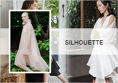 Coolness in Summer -- Silhouette Trend for Women's Dresses