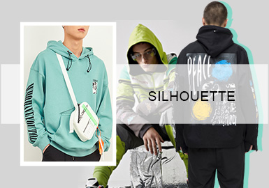 Diverse Mixing -- The Silhouette Trend for Men's Sweatshirts