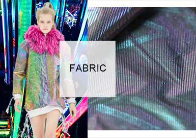 Digital Fashion&Technical Texture -- The Fabric Trend for Womenswear Fabric