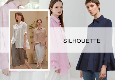 Modern Simplicity -- The Silhouette Trend for Women's Shirts
