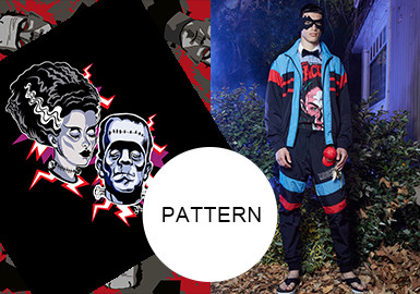 Horror Fashion -- The Pattern Trend for Menswear