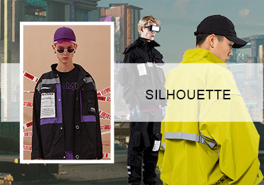Chinese Fashion -- The Silhouette Trend for Men's Functional Jackets