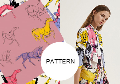 Horses -- Patterns at Big Brands