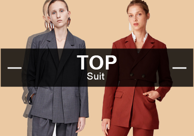 Suits -- The Analysis of Popular Items in Womenswear Markets