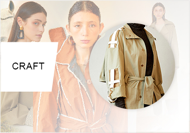 Renewed Yuppie -- The Craft Trend for Women's Trench Coats