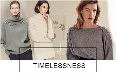 Timeless -- The Comprehensive Analysis of Women's Knitwear for the Middle-Aged and Elderly