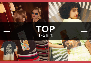 T-Shirt -- The Analysis of Popular Items in the Womenswear Market