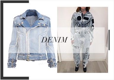 Lookism -- The Comprehensive Analysis of S/S trunk shows for Women's Denim