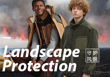 Landscape Protection -- Design&Development of Menswear