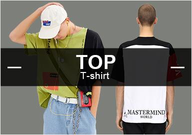 T-Shirt -- Popular Items in Men's Markets