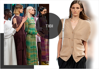The Twisting of Modernity And Classics-- The Analysis of Tibi Womenswear Catwalks