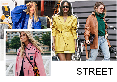 Fashion Vane-- The Comprehensive Analysis of Womenswear Leather Clothing Street Snaps