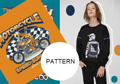 """Speed Comes First"" Motorcycling-- The Pattern Trend For Boys' Wear"