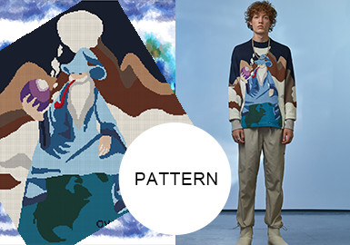 Scenery Illustrations-- The Pattern Trend for Menswear