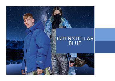 Interstellar Blue- Color Evolution for Menswear