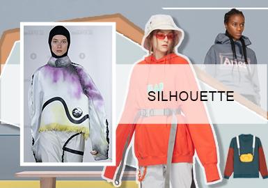 Fashion- The Silhouette Trend for Women's Sweatshirt