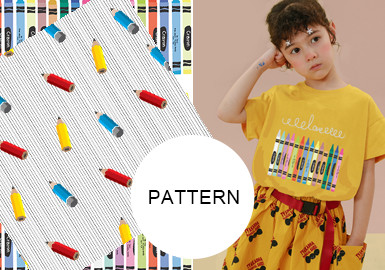 Funny Stationery- The Pattern Trend for Kidswear