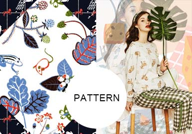 Warm and Lovely- The Pattern Trend for Women's Loungewear