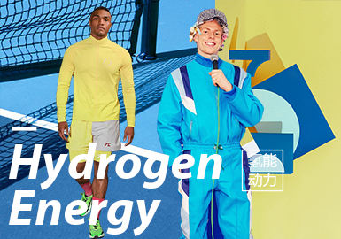 Hydrogen Energy- The Confirmation of Menswear Theme Colors
