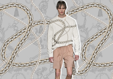 Chains- The Pattern Trend for Menswear
