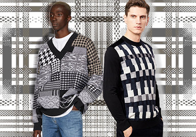 Changeable Checks- The Pattern Trend for Men's Knitwear