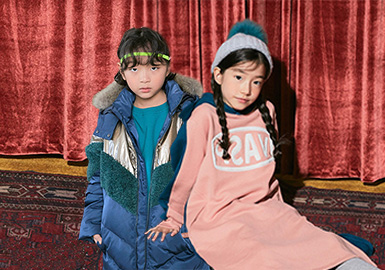 Retro and Fashionable Feel of Mix & Match -- via september The Kidswear Benchmark Brand