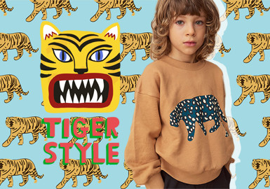 Attractive Tiger and Leopard- The Pattern Trend for Kidswear
