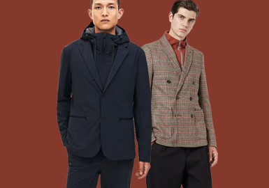 Charming Gentlemen -- The Silhouette Trend for Men's Suits