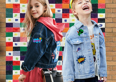 New Form of Patches -- The Craft Trend fro Kids' Denim Outerwear