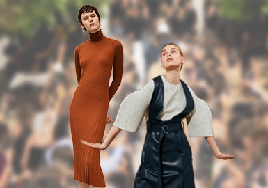 Face up to Selves -- The Comprehensive Analysis of Women's Knitwear on Catwalks