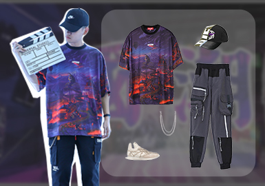 Functional and Fashionable -- Clothing Collocation of Men's Chinese Fashion T-shirts