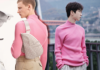 Interpretation of Brands -- The Collection of Male Stars' Knitwear