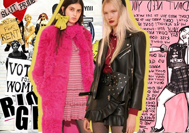 Riot Grrrl -- The Catwalk Analysis of Red Valentino Womenswear
